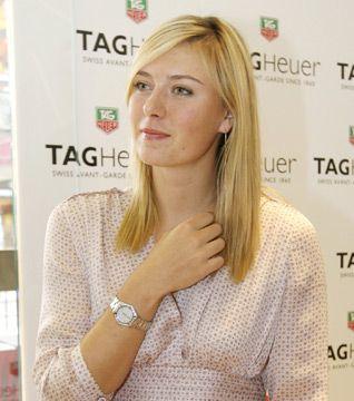 Kim mi bu ünlü güzel?  Tenis kortlarının en çok kazanan yıldızlarından Maria Sharapova.