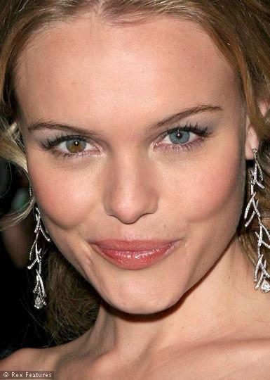 Kate Bosworth'un gözleri farklı renklerde...
