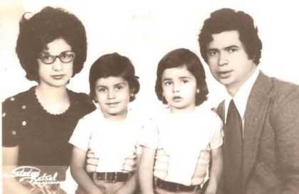 Acun Ilıcalı'nın annesi- babası ve ağabeyi.