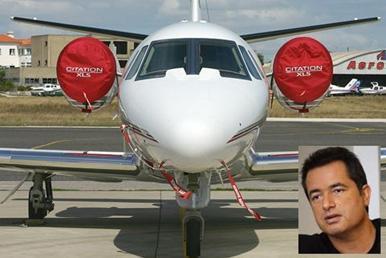 İddialara göre Ilıcalı, 9 kişilik Cessna Citation XLS uçağı satın almak için 7 milyon dolara yakın bir para ödedi.