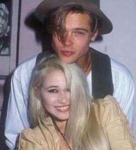 Brad Pitt bir süre Elizabeth Daily ile aşk yaşadı.