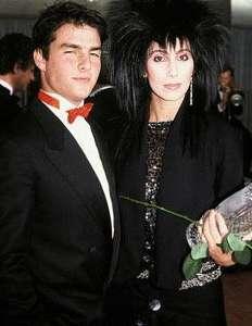 Tom Cruise ile ünlü şarkıcı ve oyuncu Cher, yıllar önce aşk yaşamışlardı.