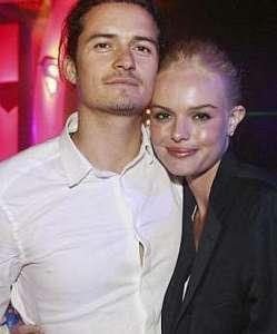 Biri yakışıklı bir erkek Orlando Bloom, diğeri de çok güzel bir kadın Kate Bosworth.