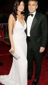 George Clooney ve Lisa Snowdon, Hollywood'un gözalıcı çiftlerinden biriydi.