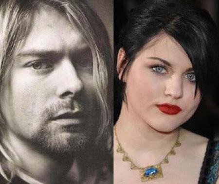 Frances Bean, Kurt Cobain ile Courtney Love'ın kızı.