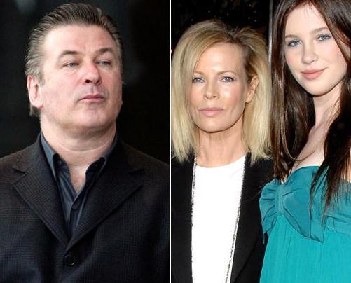 Alec Baldwin'in 1995 doğumlu kızı Ireland ünlü aktörün boyuna yetişti. Ama güzel annesinin boyunu çoktan geçti.