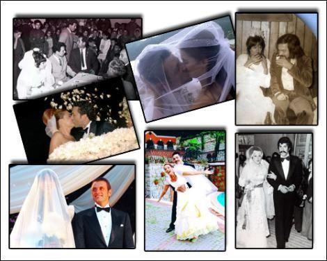 Sanat ve sinema dünyasının ünlü isimleri hayatlarının en özel anı olan nikah törenlerinde hiç bir detayı atlamıyor...  İşte yıldızların evet dediği 'o anlar' ve anı ölümsüzleştiren fotoğraflar...