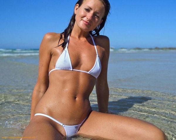 фото девушек крупным планом на пляже