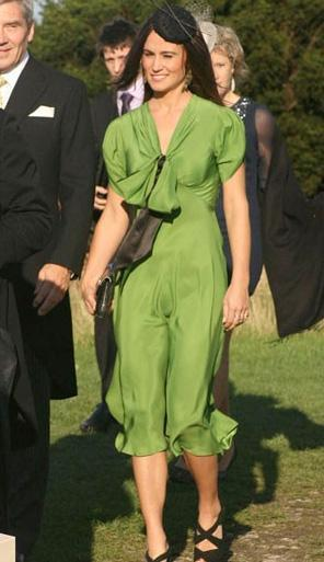 Pippa Middleton bu fotoğrafı görünce biraz utanmış.