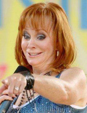 Singer Reba McEntire