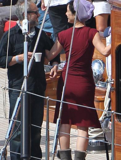 James Bond rolündeki Daniel Craig (44) ile kamera karşısına geçen Marlohe, 23. Bond kızı.