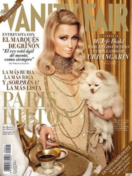 Paris Hilton in Vanity Fair