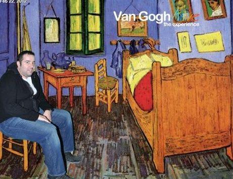 """Bu sergi hatırasının notu ise """"Van Gogh Abi yok mu?"""""""