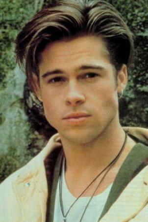Brad Pitt de yaşlandıkça güzelleşen ünlülerden.