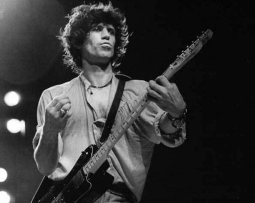 Gitarist Keith Richards'ın elleri sigortalı.