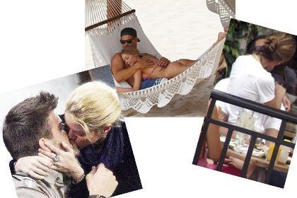 AŞK GÖZLERİNİ KÖR ETTİ  Gösteri dünyasının ünlü çiftlerinin başı bazı zamanlarda aşktan öylesine dönüyor ki, dünyayı unutuyorlar.   İşte ünlü çiftlerin o romantik anları.