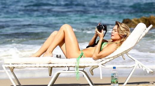 LeeAnn Rimes tatilinin her anını fotoğraflamayı da ihmal etmedi.