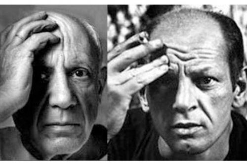 Pablo Picasso - Jackson Pollock