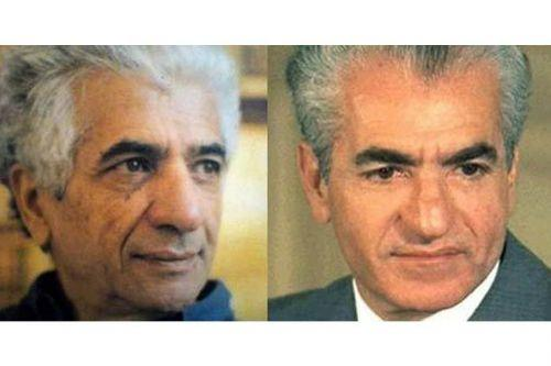 Parviz Tanavoli - Mohammed Reza Pahlavi