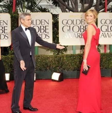 George Clooney sevgilisini basına böyle takdim etti