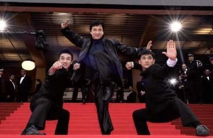 Jackie Chan, aksiyon filmlerinin usta aktörlerinden