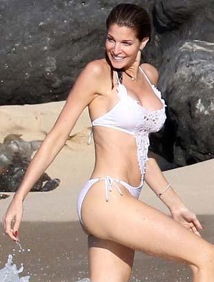 42 yaşındaki Stephanie Seymour, 4 çocuk annesi..