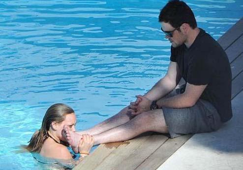 Hilary Duff, eşi Mike Comrie'ye aşkını böyle ifade etti.