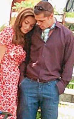 Brangelina çifti liseli aşıklar gibi. Bu onların aşkını ortaya çıkaan ilk fotoğraf.