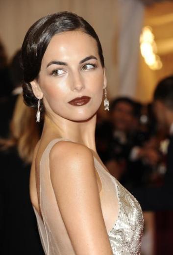Onun elbisesinin tasarımı Ralph Lauren'e ait.