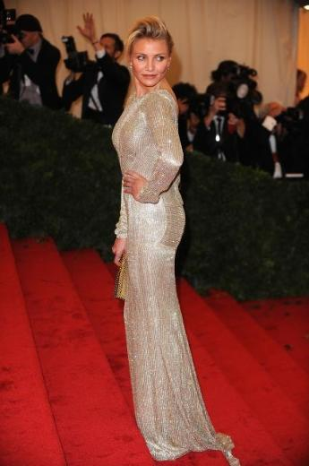 Diaz'ın elbisesi Stella McCartney