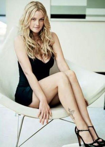 Güzel yıldız Drew Barrymore'da klosbtrofobi yani kapalı yerde kalma korkusu var.
