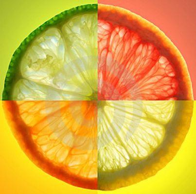 Narenciye   Turuncu çiçek özleri ve limon genellikle anti-stres etkisi taşır. İçeriğindeki vitaminler cildi besler ve solgun ciltleri canlandırır. Şişlik ve lekeleri kaldırılır. Cilt daha elastik hal alır. Limon, portakal, mandalina, limon ve greyfurtun doğal yağlarının ve özlerinin yer aldığı kremler cilt kırışıklıklarını yok eder, gençlik ve tazelik verir.