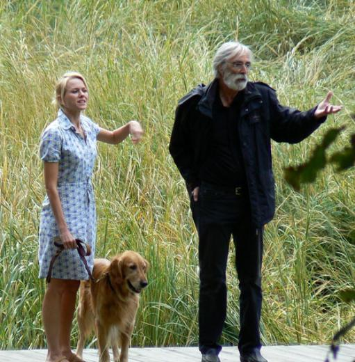 Naomi Watts ve yönetmen Michael Haneke..