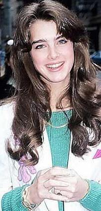 Brooke Shields 16 yaşındayken de çok güzeldi.