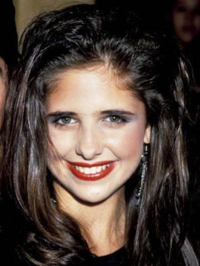 Sarah Michelle Gellar 15 yaşındayken.