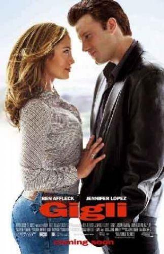 Gigli Meet Joe Black ve Kadın Kokusu gibi hiç de fena olmayan filmlere imzasını atan Martin Brest'in fiyasko filmi: Gigli. O dönem birlikte olan ve Bennifer adıyla anılan Jenniefer Lopez ve Ben Affleck'in erotik sahneleni de seyirciyi güldürmüştü.