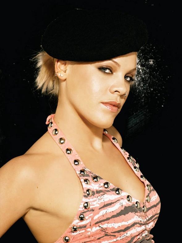 Punk rock şarkıcısı Pink