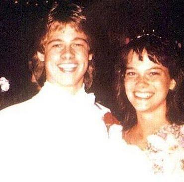Brad Pitt bir süre Sarah Hart adlı bu genç kızla flört etti. Ama ilişkileri kısa sürdü.