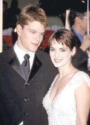 Winona Ryder ve Matt Damon'ın 1997'de ilişkileri üç yıl sürdü.