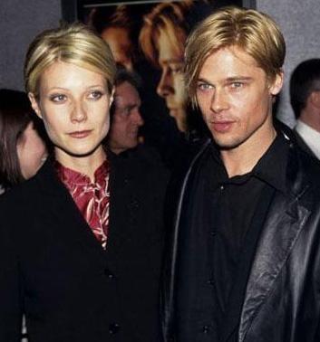 Gwyneth Paltrow ile Pitt uzun süre nişanlı kaldılar.