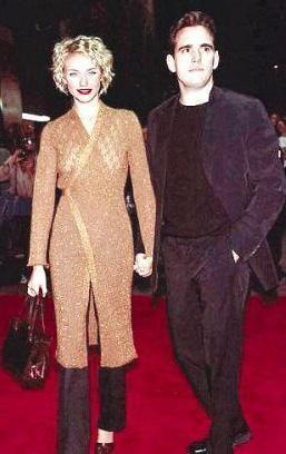 """Cameron Diaz ve Matt Dillon, 1997 yılında """"There's Something About Mary"""" filminin setinde başlayan aşkları bir yıl sürdü."""