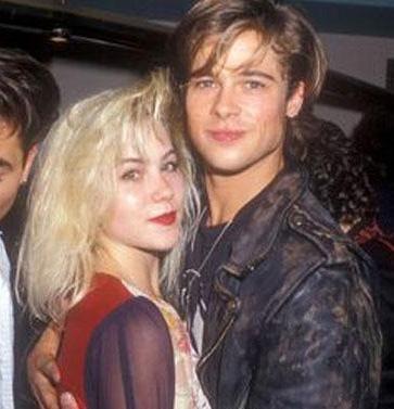 Pitt'im medyaya yansıyan ilk ünlü sevgililerinden biri Christina Applegate'ti.