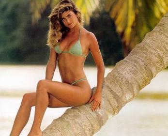 Kathy Ireland bir dönemin en ünlü mankenlerindendi.