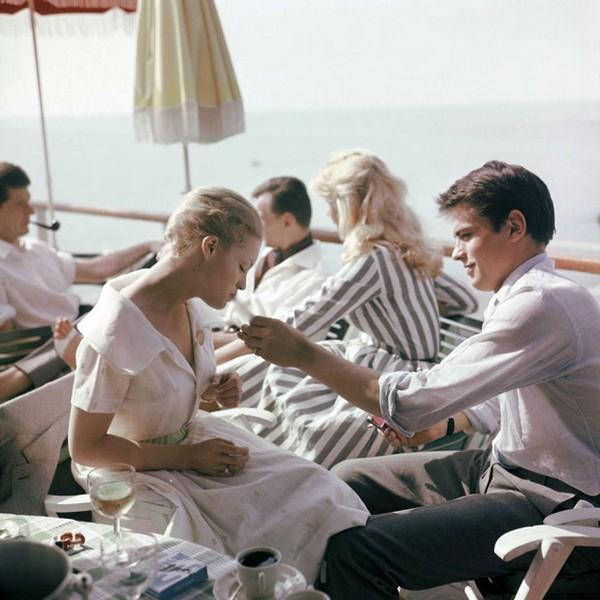 1962: Alain Delon ve Romy Schneider