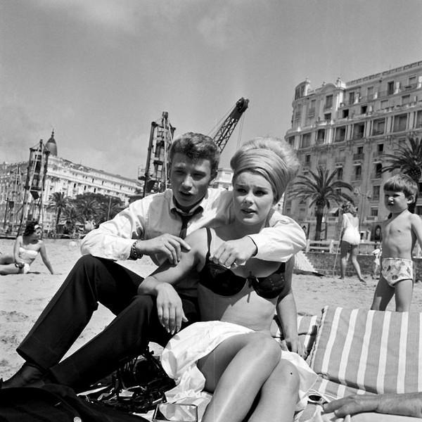 1962: Johnny Hallyday ve Elke Sommer
