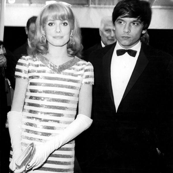 1966: Catherine Deneuve ve eşi David Bailey