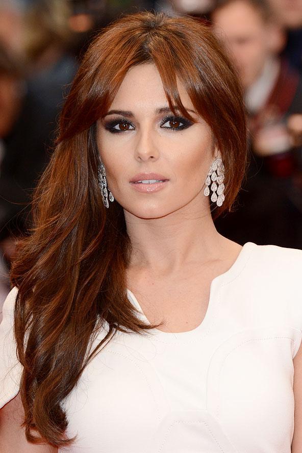 Cheryl Cole parlak ve sağlıklı görünen saçları ile Cannes'da oldukça güzel görünüyordu.