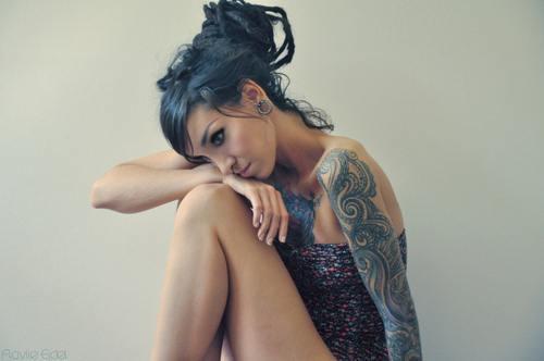 Dövmeli çılgın kızlar - 38