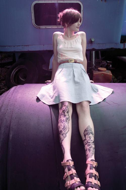 Dövmeli çılgın kızlar - 108