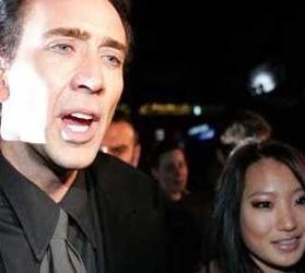 Ünlü aktör Nicholas Cage daha önce Patricia Arquette ve Lisa Marie Presley ile evlenmişti. Nicholas Cage eşinden 20 yaş büyük.